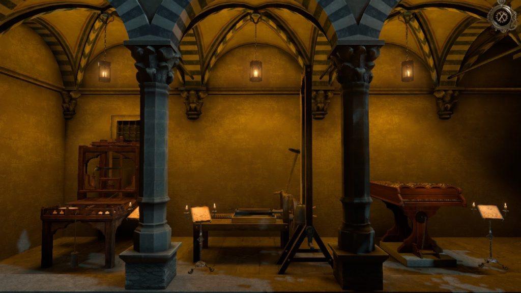 The House of Da Vinci Game Achievements Screen