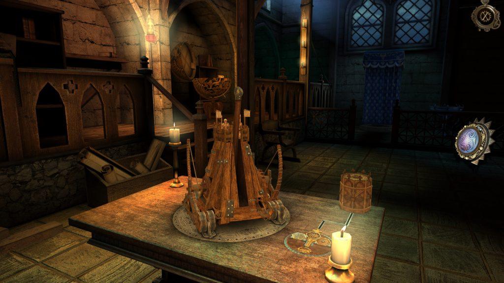 The House of Da Vinci Game Workshop Screen