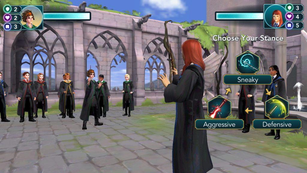 Harry Potter: Hogwarts Mystery Dueling Screen