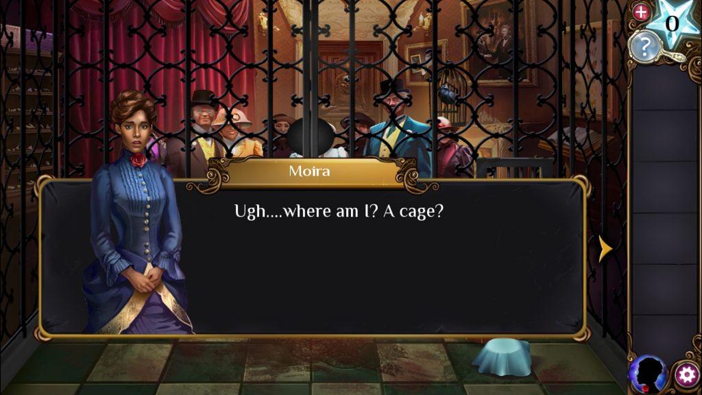 Adventure Escape: Haunted Hunt Moira Speaking
