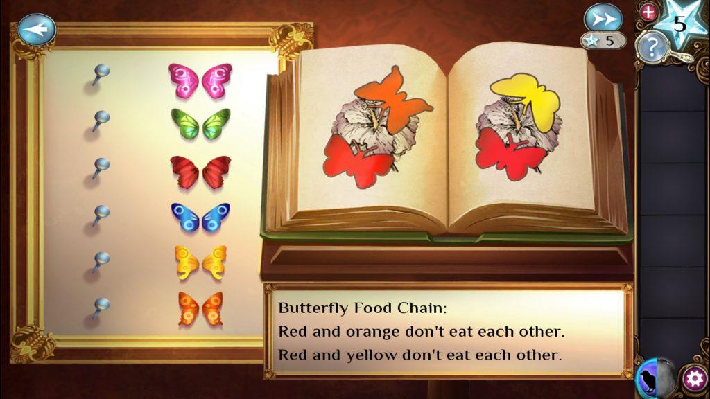 Adventure Escape: Haunted Hunt Butterfly Puzzle