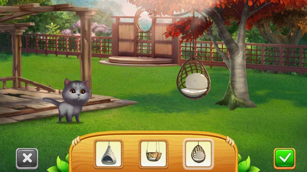 Meow Match Backyard Design Swing Options
