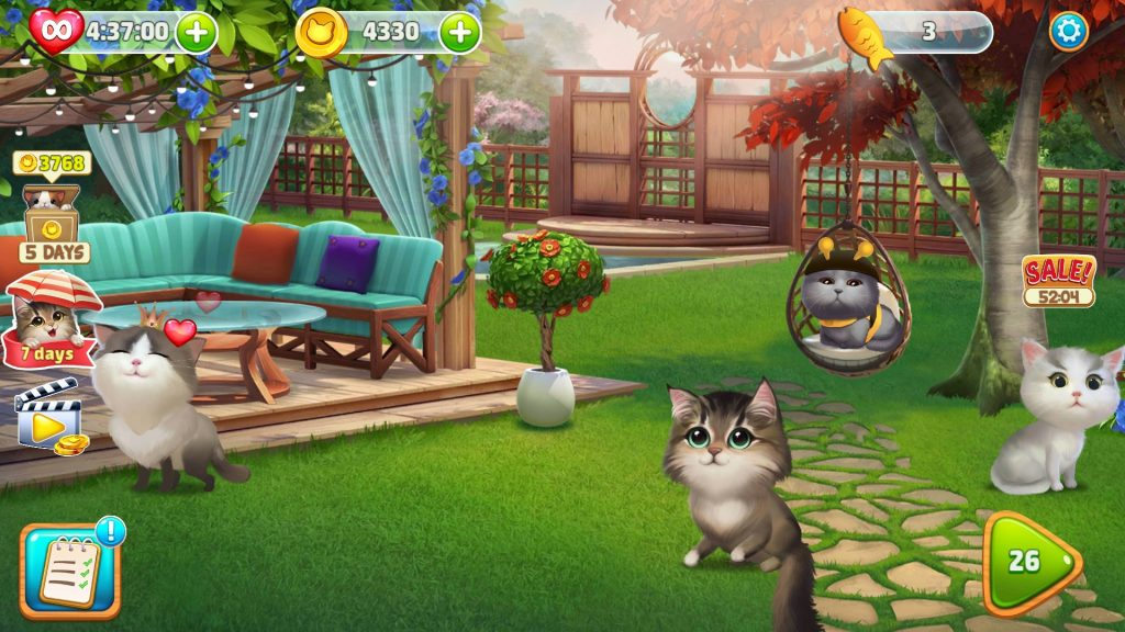 Meow Match Backyard Design Complete With All Cats