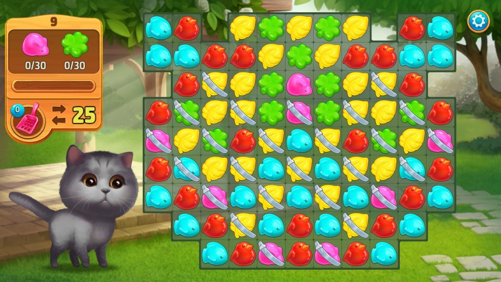 Meow Match Puzzle Screen