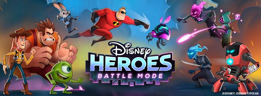 Disney Heroes: Battle Mode Logo Screen
