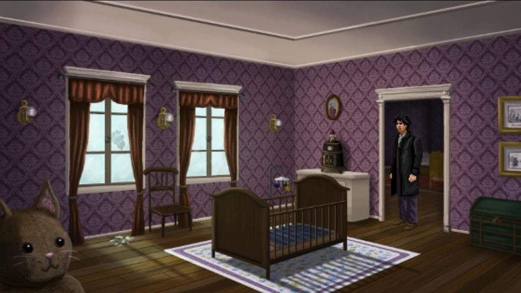 Lamplight City Baby's Nursery