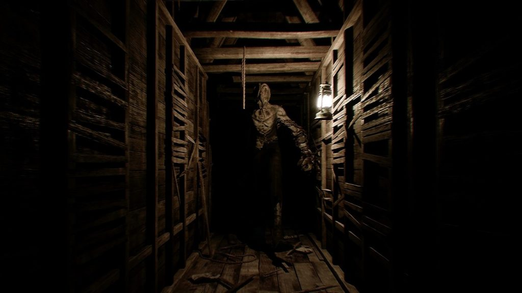 The Conjuring House Hallway with Monster