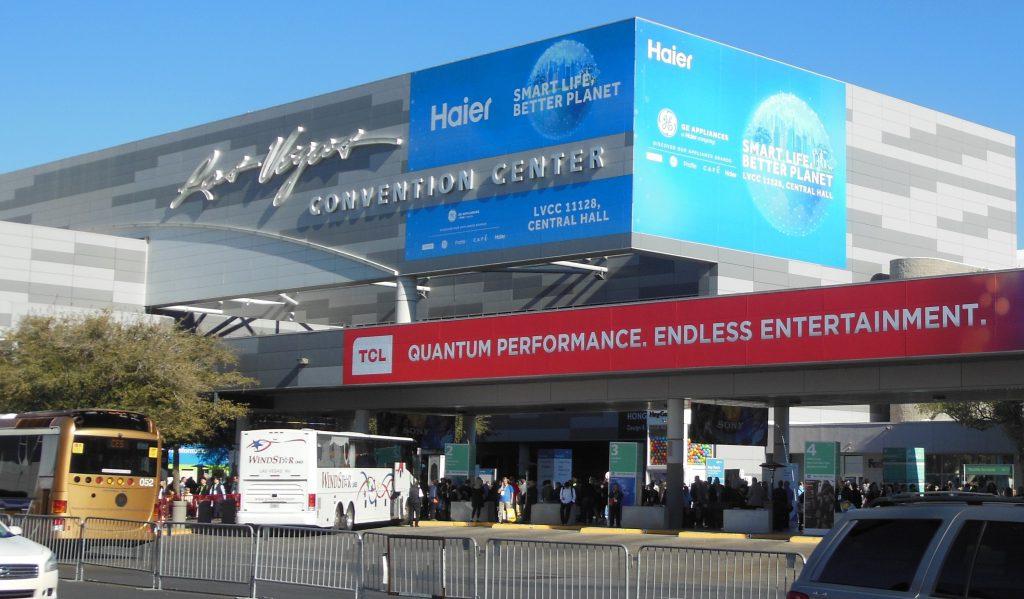 Las Vegas Convention Center During CES 2019