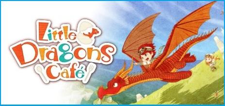 Little Dragons Cafe Title Logo