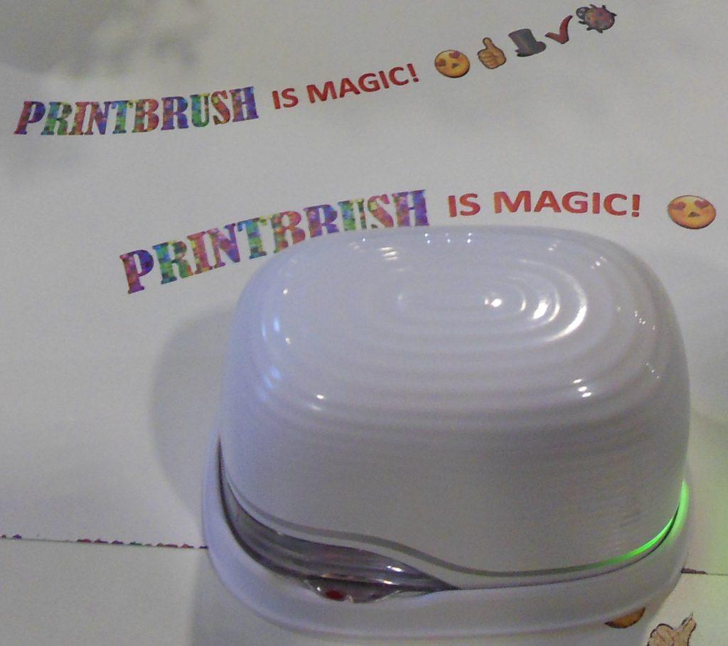 PrintBrush XDR Mobile Handheld Inkjet Printer