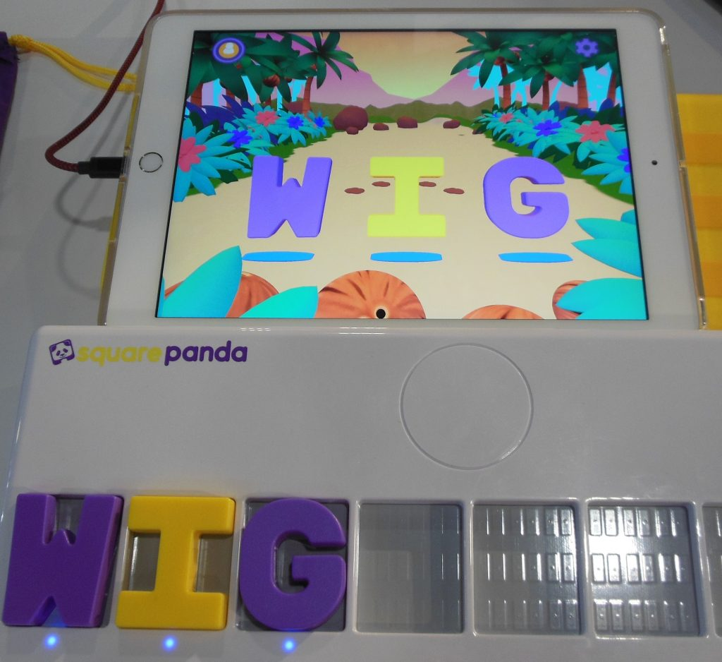 Square Panda Phonics Pad and Tablet App
