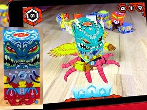 SwapBots Block Creature and Battle Game App