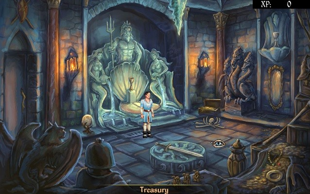 Mage's Initiation Water Element Treasury
