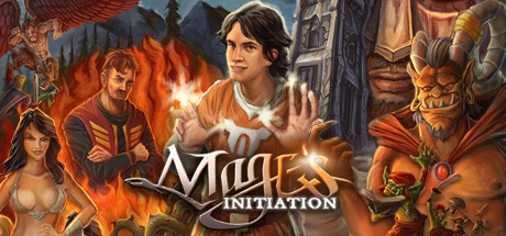 Mage's Initiation Logo Screen