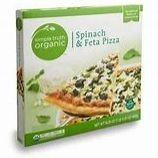 Kroger Simple Truth Organic Spinach & Feta Pizza box image
