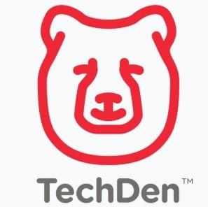 TechDen Bear Head Logo