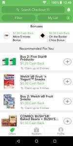 Checkout 51 App Offers List