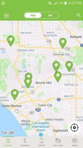 Veggie Grill App Location Finder