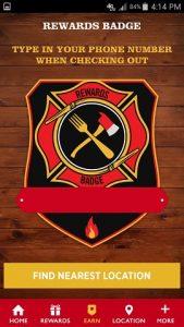 Firehouse Subs App Rewards Member Badge