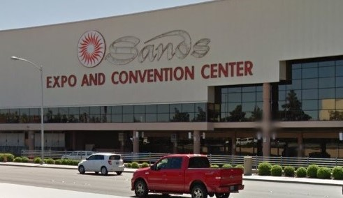 Sands Convention Center Exterior