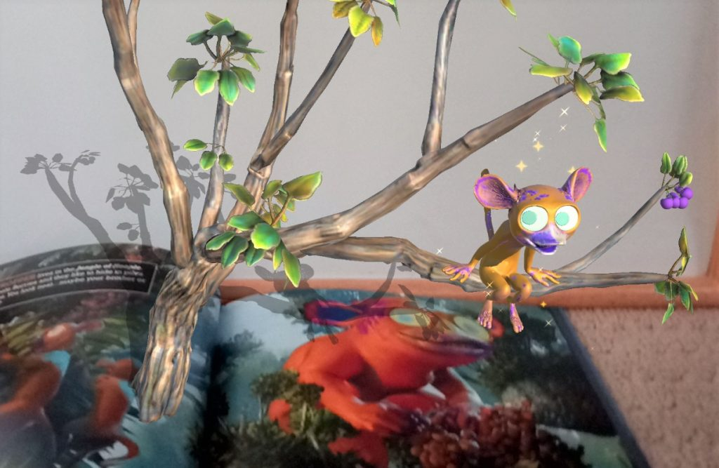 Creative Creature Catcher Monkey in Tree AR