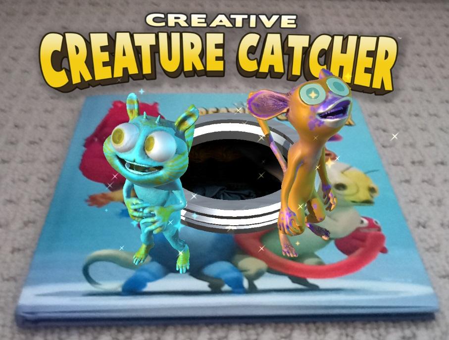 Creative Creature Catcher Cover AR