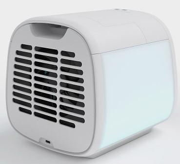 evaCHILL Evaporative Cooling Device Back