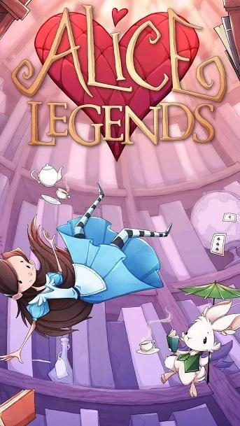 Alice Legends Title Screen