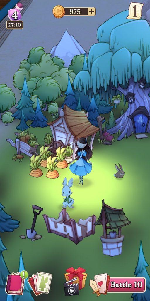 Alice Legends Nightime Woods Base