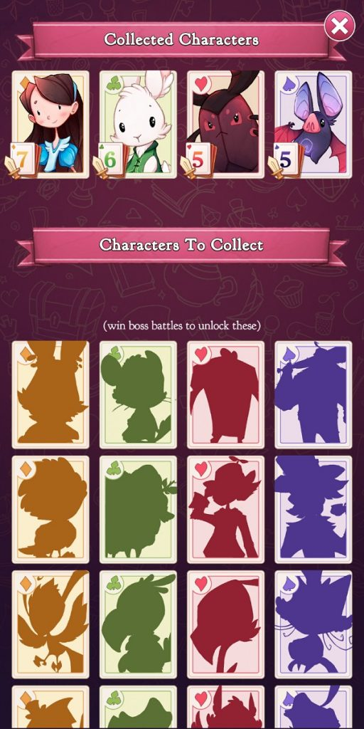 Alice Legends Character Collection