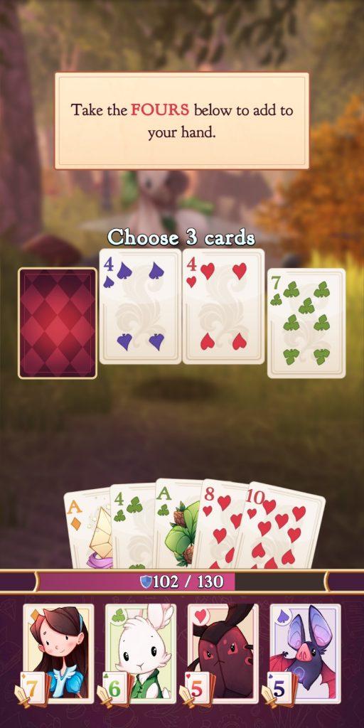 Alice Legends Card Selection