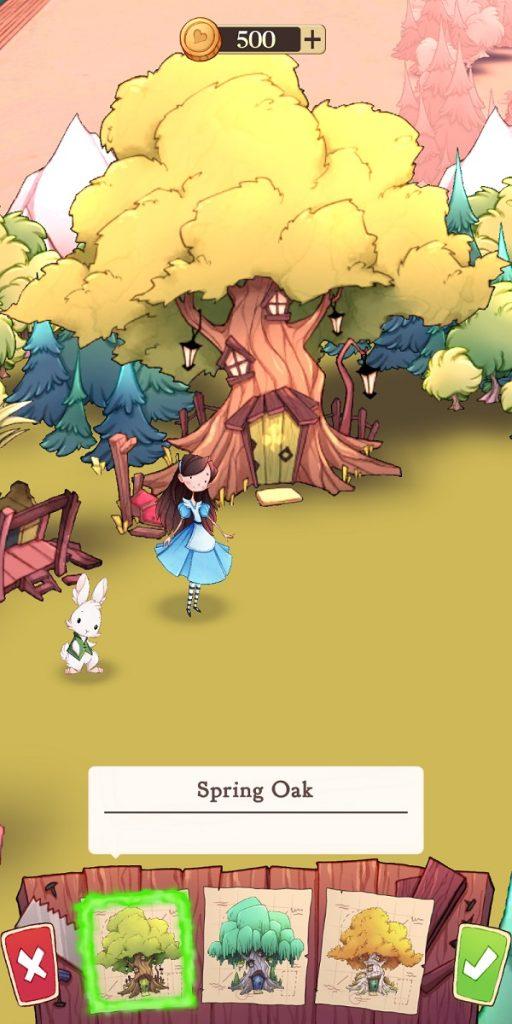 Alice Legends Choosing Base Decorations