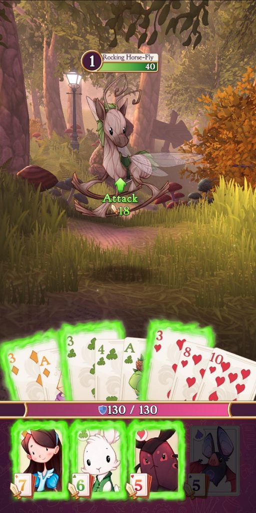 Alice Legends Battle With Set of 3's