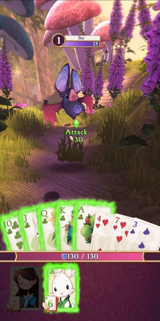Alice Legends Battle with Run of Clubs