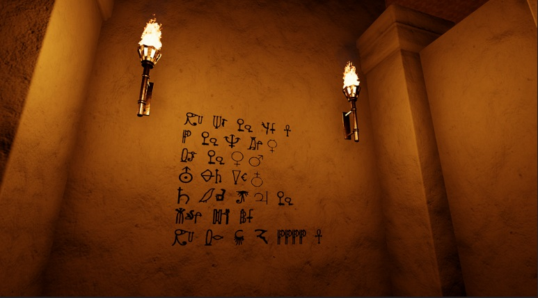 Seven Doors Pharaoh Code Screenshot