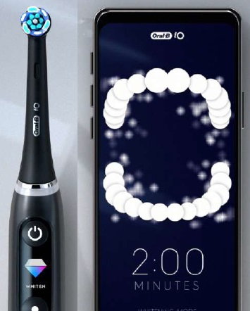 Oral-B iO Series 9 Electric Toothbrush and App