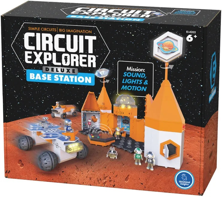 Circuit Explorer Deluxe Base Station Playset