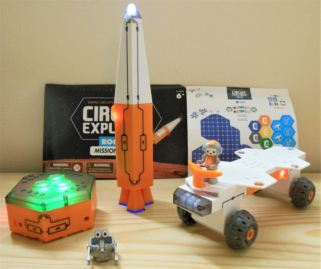 Circuit Explorer Rocket Finished Playset