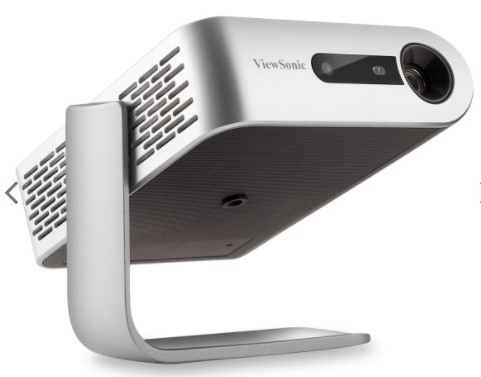 View Sonic M1+ Portable Projector Angled Stand