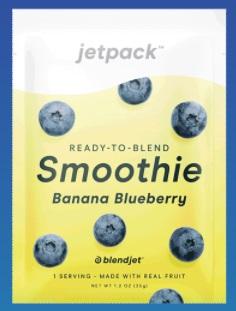BlendJet 2 JetPack Banana Blueberry