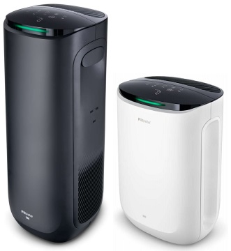 Filtrete's Smart Air Purifier Tower and Console