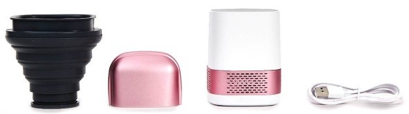 LUFT Duo Air Purifier and Accessories