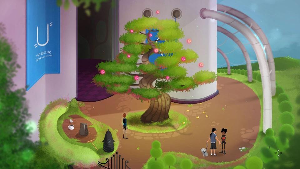 Mutropolis Research Garden Screenshot