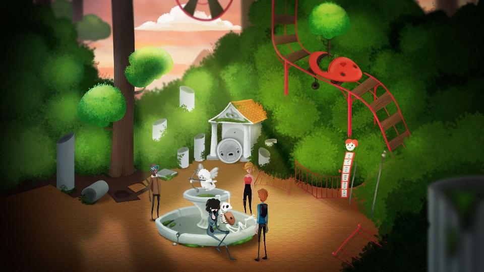 Mutropolis Fountain Ruins Screenshot