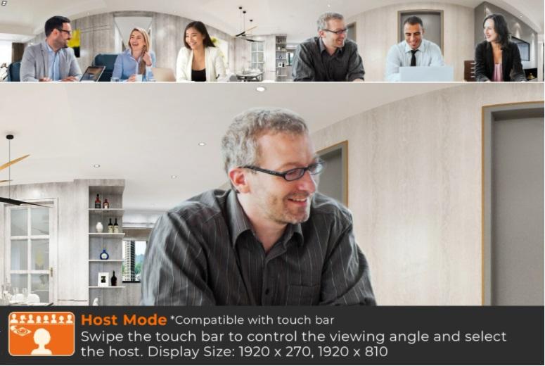 j5create JVCU360 Webcam Host Mode