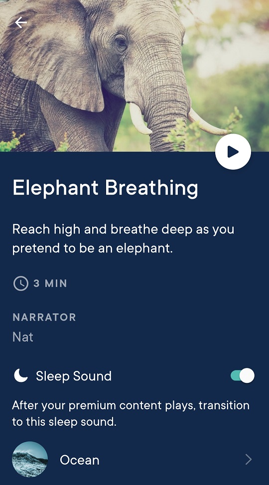 Hatch Sleep App Story Details