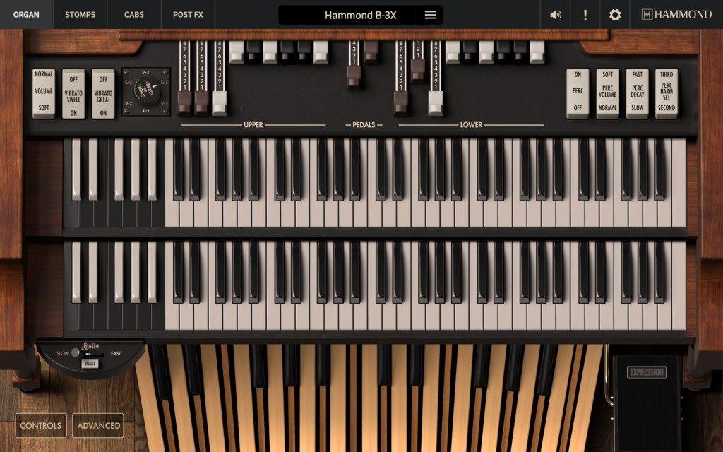Hammond B-3X Organ Interface