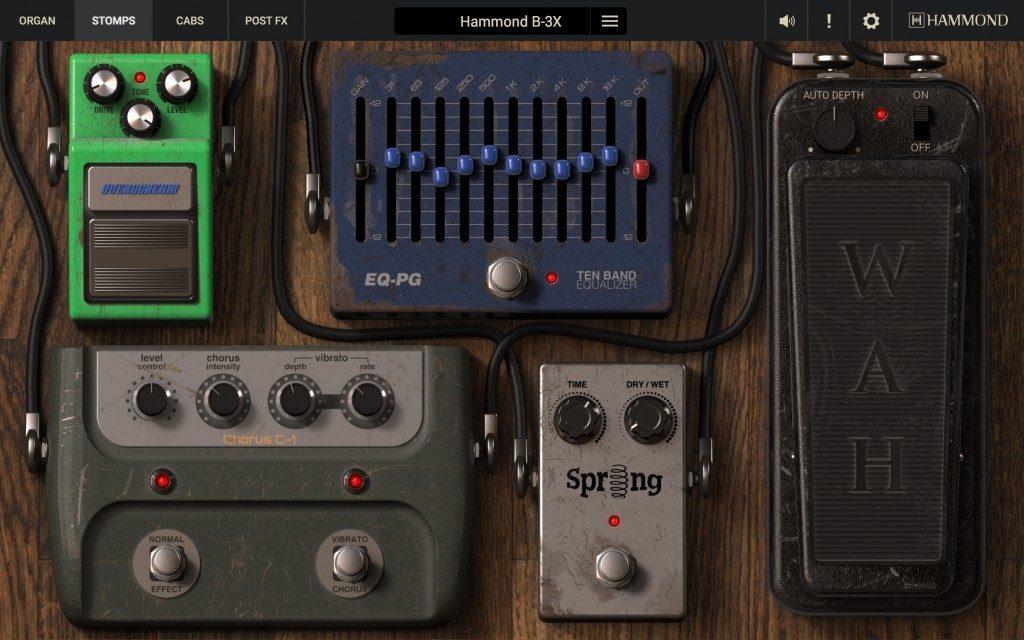 Hammond B-3X Pedal Interface