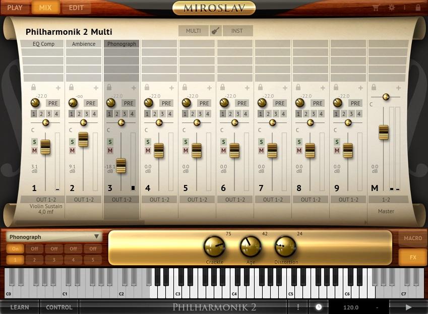 Miroslav Philharmonik 2 Mix Tab