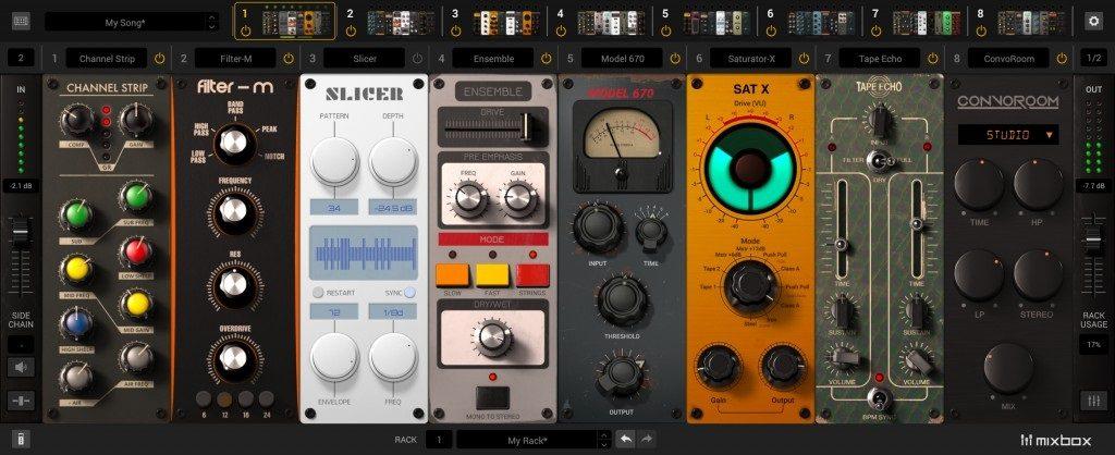 MixBox Effects Module Rack